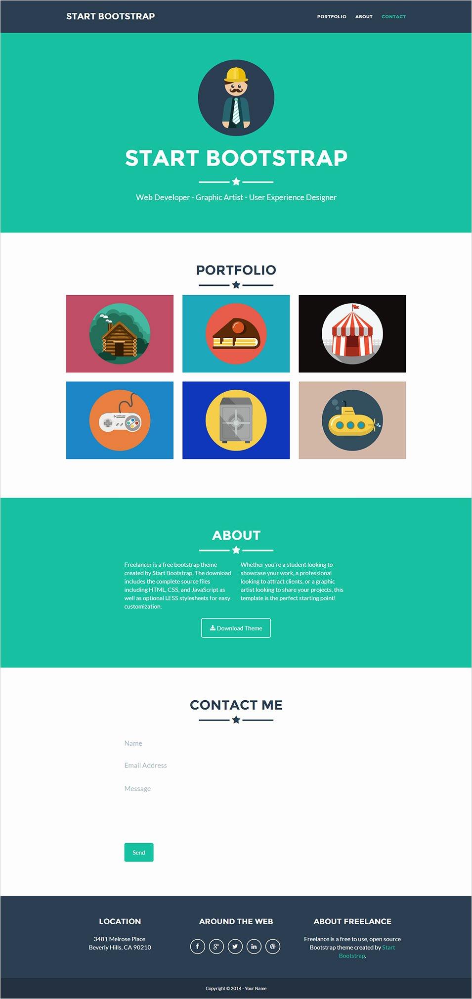 20 Best Premium E Page Website Templates