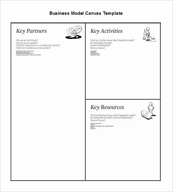 20 Business Model Canvas Template Pdf Doc Ppt