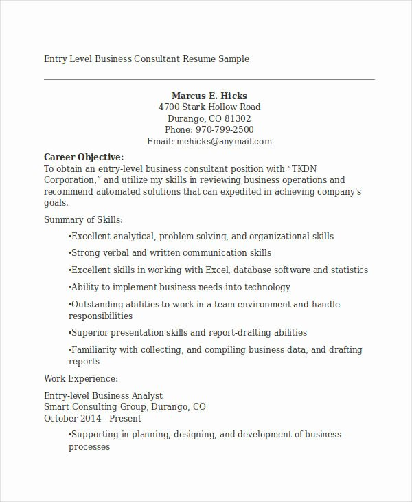 20 Business Resume Templates Pdf Doc
