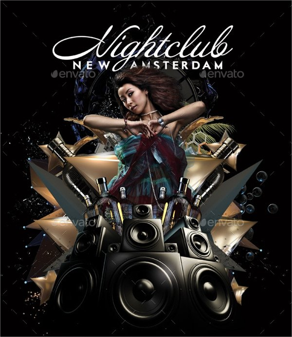 20 Club Flyer Templates