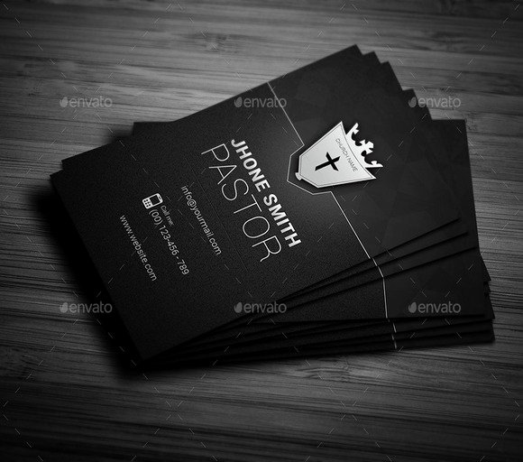 20 Cool Church Business Card Templates