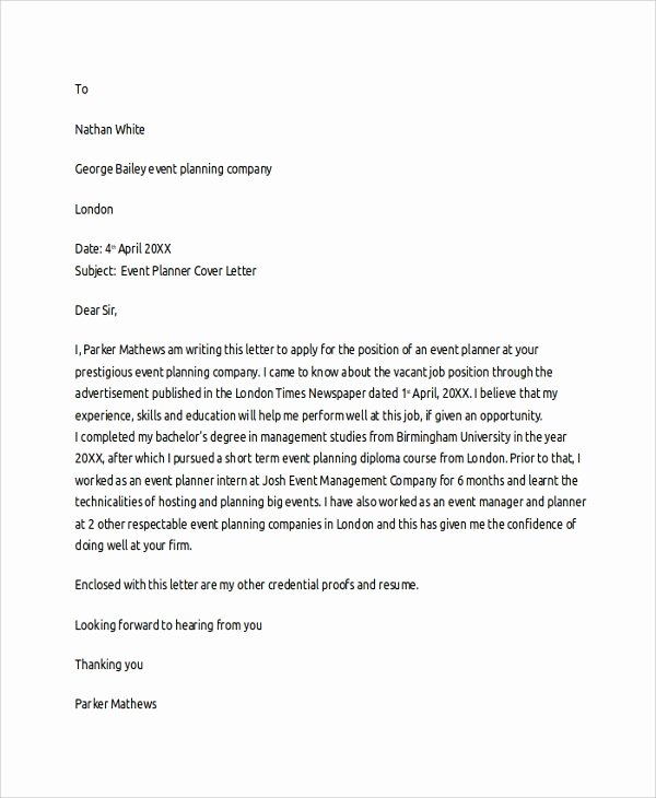 20 Cover Letter Templates