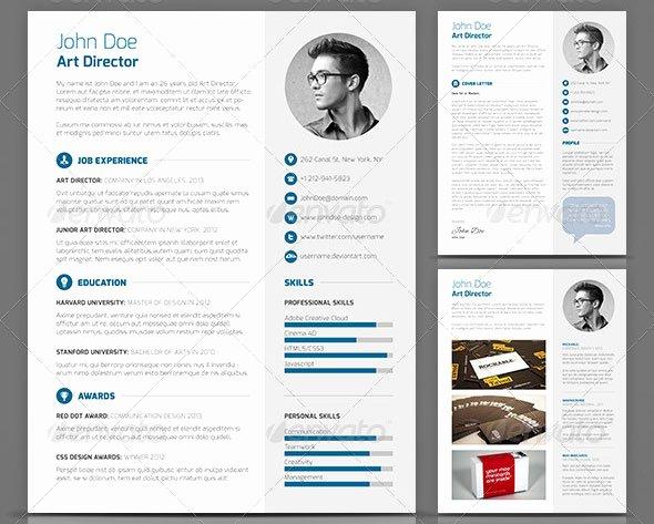 20 Creative Resume Cv Indesign Templates – Design Freebies