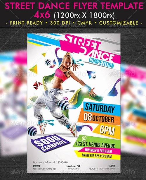 20 Dance Flyer Free Psd Free Psd Flyer Templates
