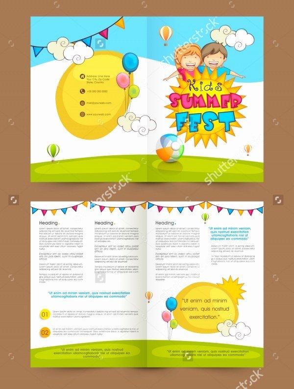 20 Daycare Brochure Templates Psd Vector Eps Jpg
