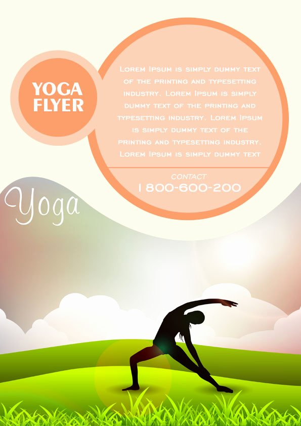20 Distinctive Yoga Flyer Templates Free for Professionals