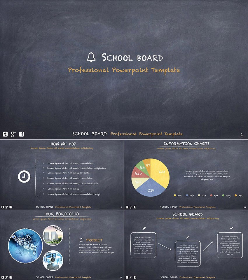 20 Education Powerpoint Templates for Great School