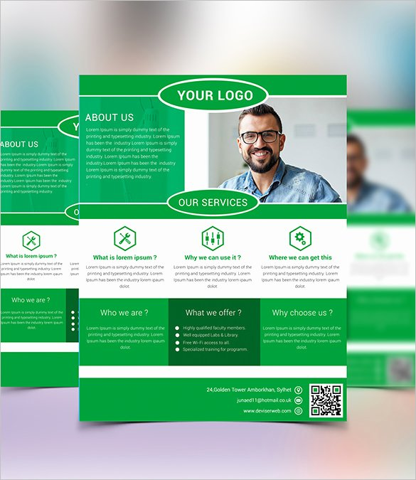 20 Fabulous Free Business Flyer Templates