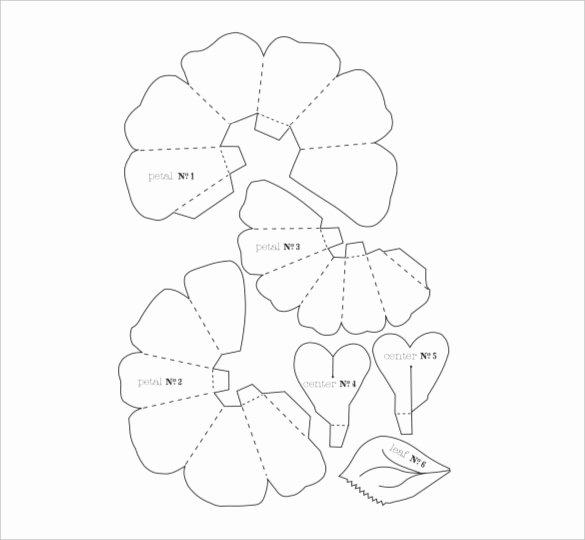 20 Flower Petal Templates Pdf Vector Eps