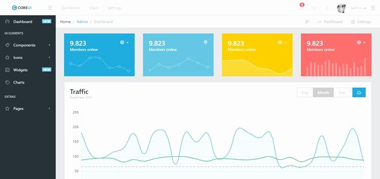 20 Free Bootstrap Admin & Dashboard Templates