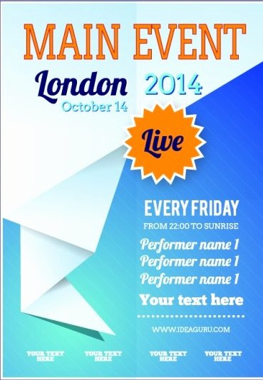 20 Free event Flyer Templates for Range events Demplates