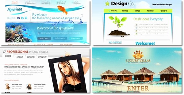 20 Free Flash Website Templates for Download