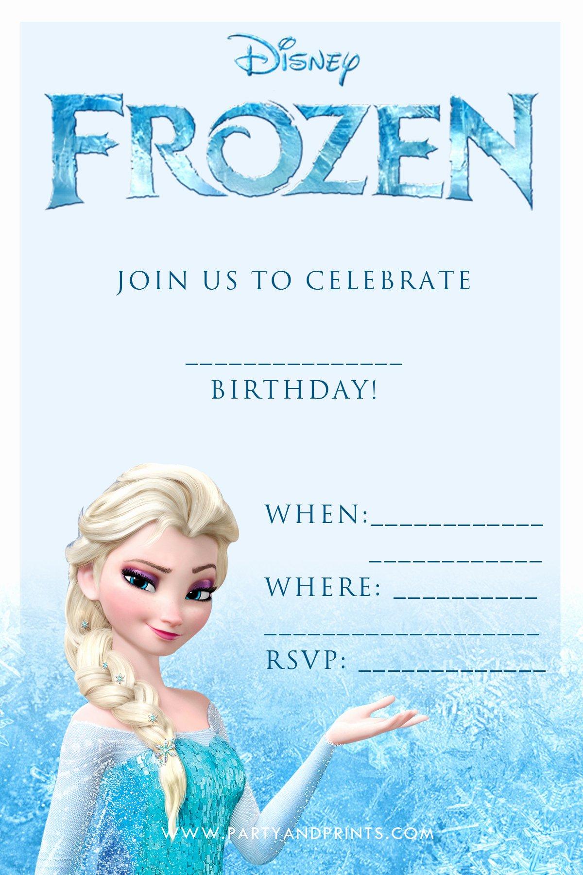 20 Frozen Birthday Party Ideas