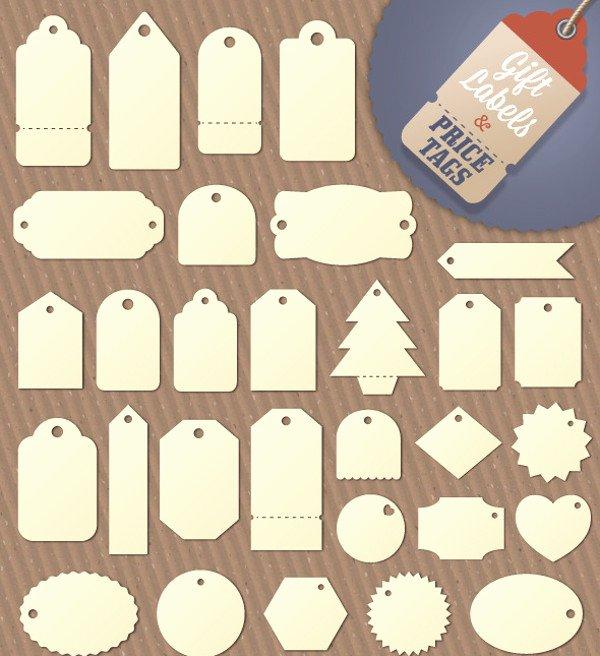 20 Hang Tag Designs Vector Eps Ai Illustrator Download