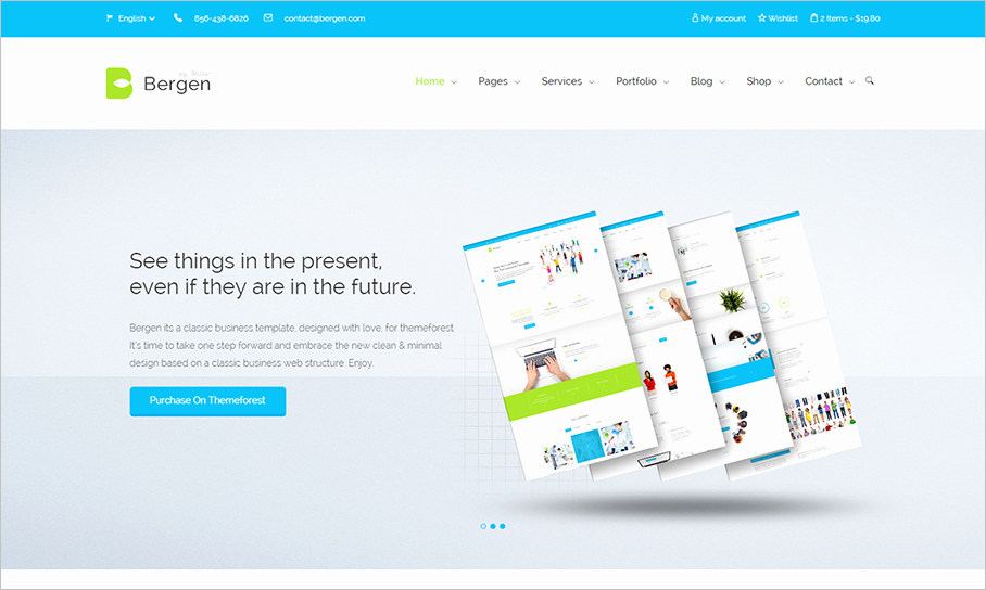 20 HTML5 Business Templates