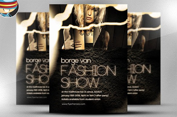 20 Mind Blowing Fashion Flyer Templates Word Psd Eps