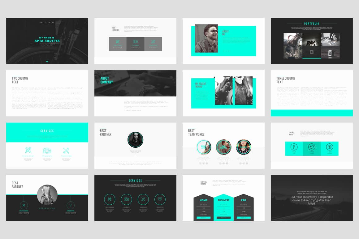 20 Outstanding Professional Powerpoint Templates