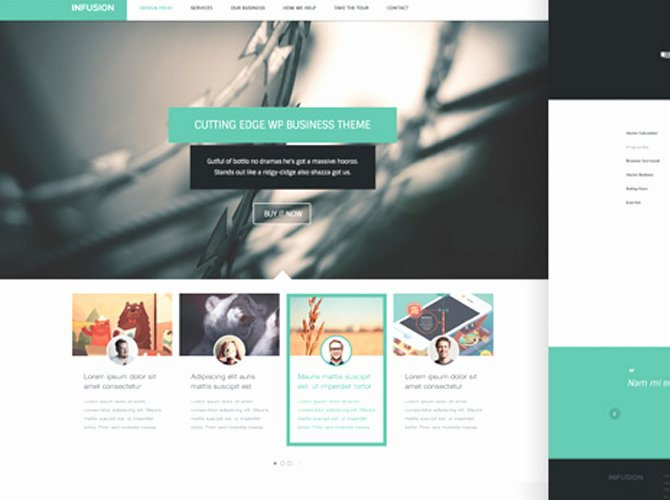 20 Pixel Perfect Free Psd Website Templates with Amazing