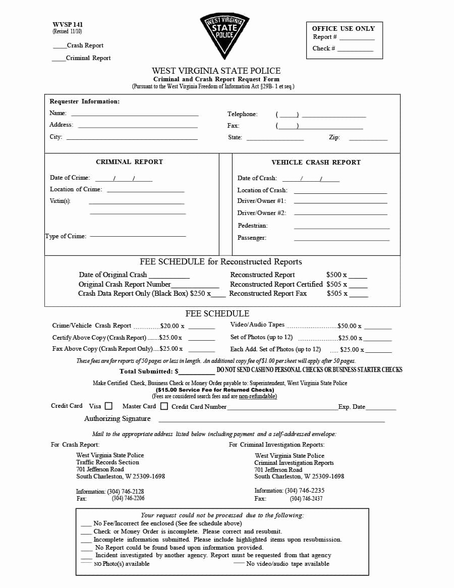 20 Police Report Template & Examples [fake Real