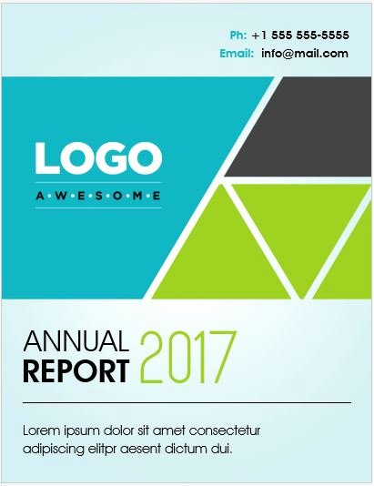 20 Report Cover Page Templates for Ms Word