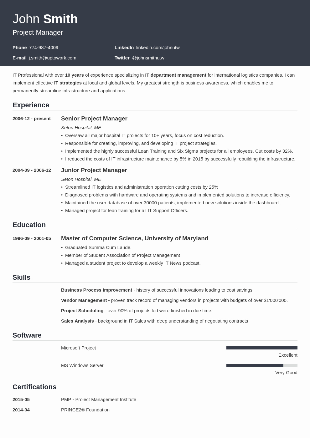 20 Resume Templates [download] Create Your Resume In 5