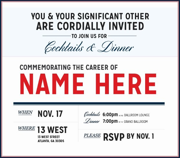 20 Retirement Party Invitation Templates Printable Psd