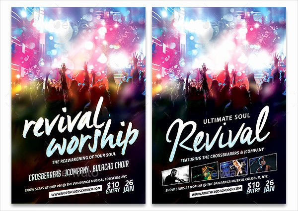 20 Revival Flyer Template Free Premium Psd Ai Vector