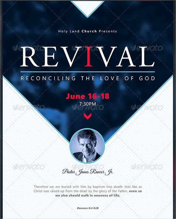 20 Revival Flyers Free Psd Ai Eps format Downloads