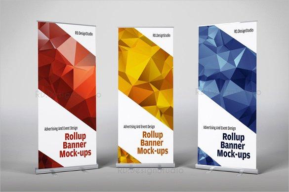 20 Rollup Banner Design Templates Psd Ai Vector Eps