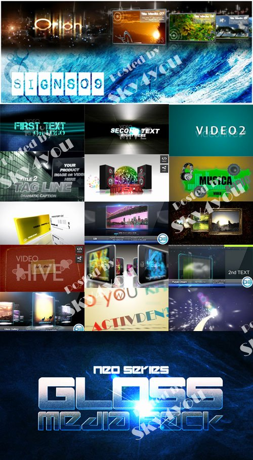 20 Template after Effect Project Videohive Download Free