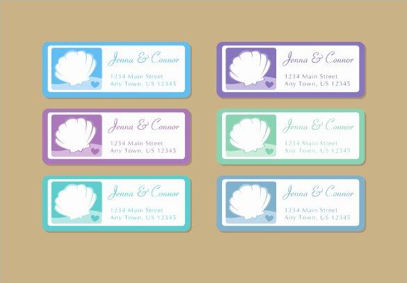 20 Wedding Labels Templates