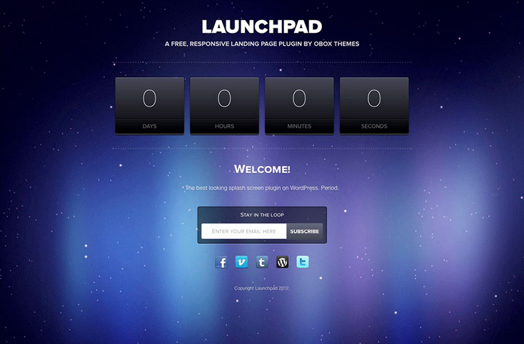 20 Wordpress Ing soon Website Template 2015 Wpbean
