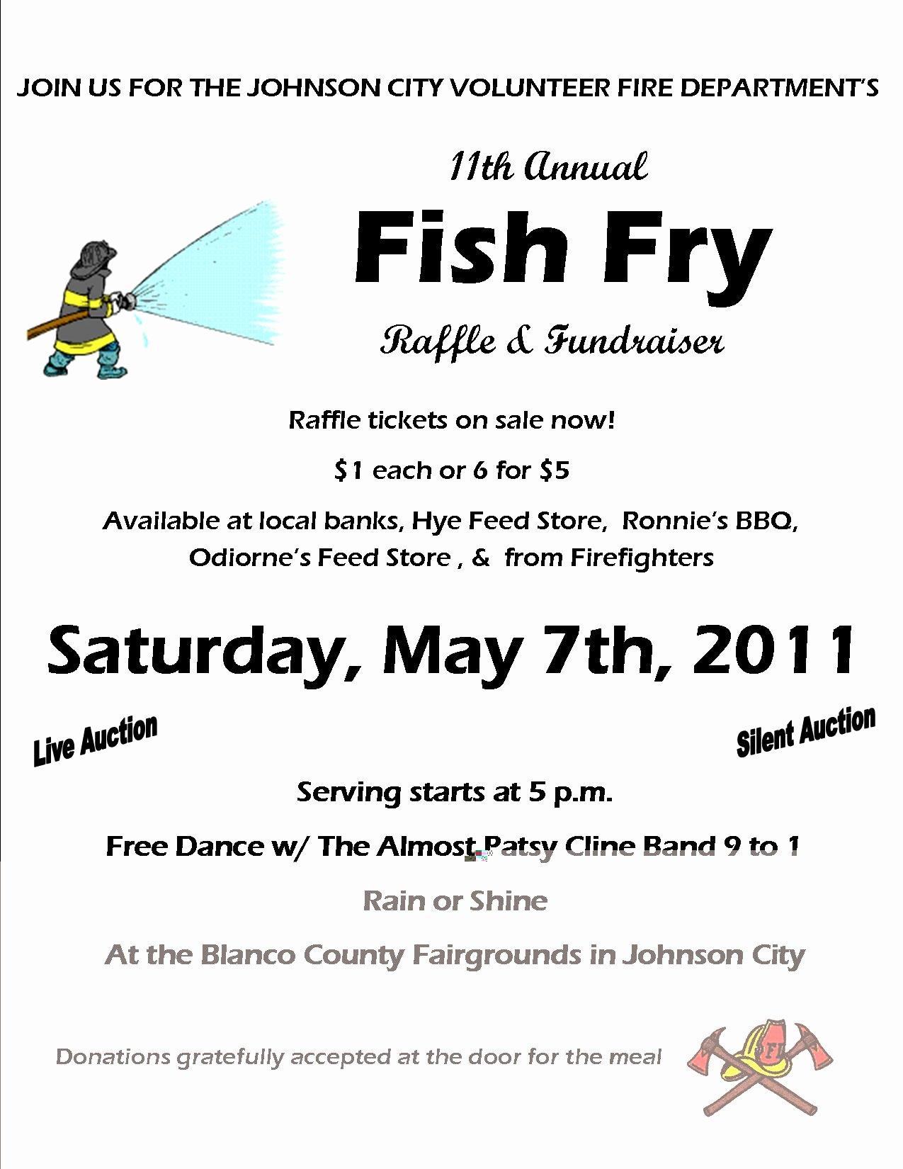 2011 Fish Fry Flyer Jcvfd