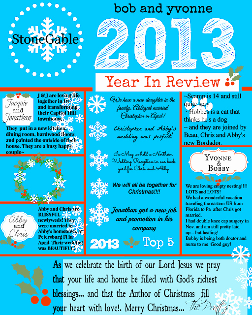 2013 Year In Review Stonegable