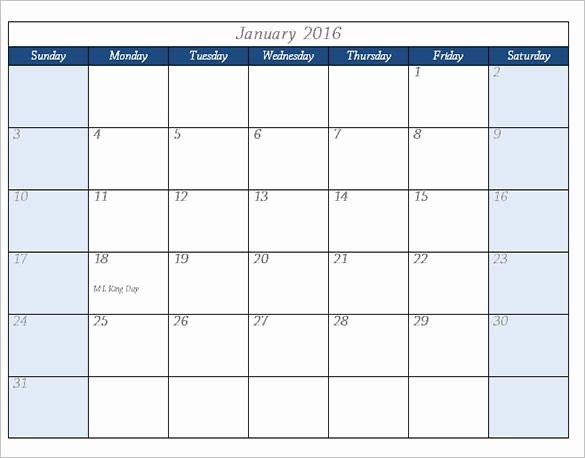 2016 Calendar Template – 46 Free Word Pdf Psd Eps Ai