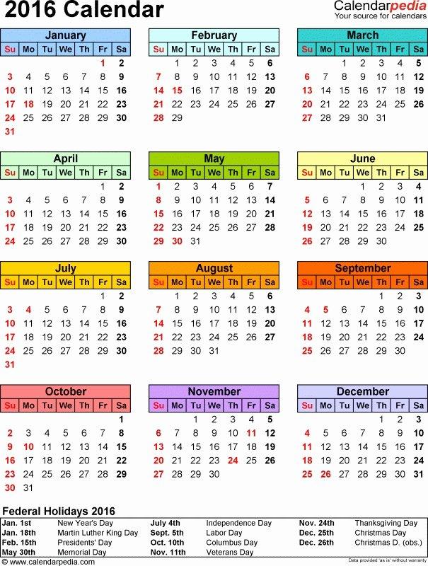 2016 Federal Payroll Calendar Printable Free Calendar