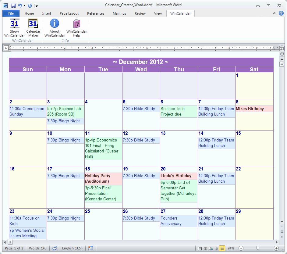 2017 Microsoft Fice Calendar Calendar Template 2018