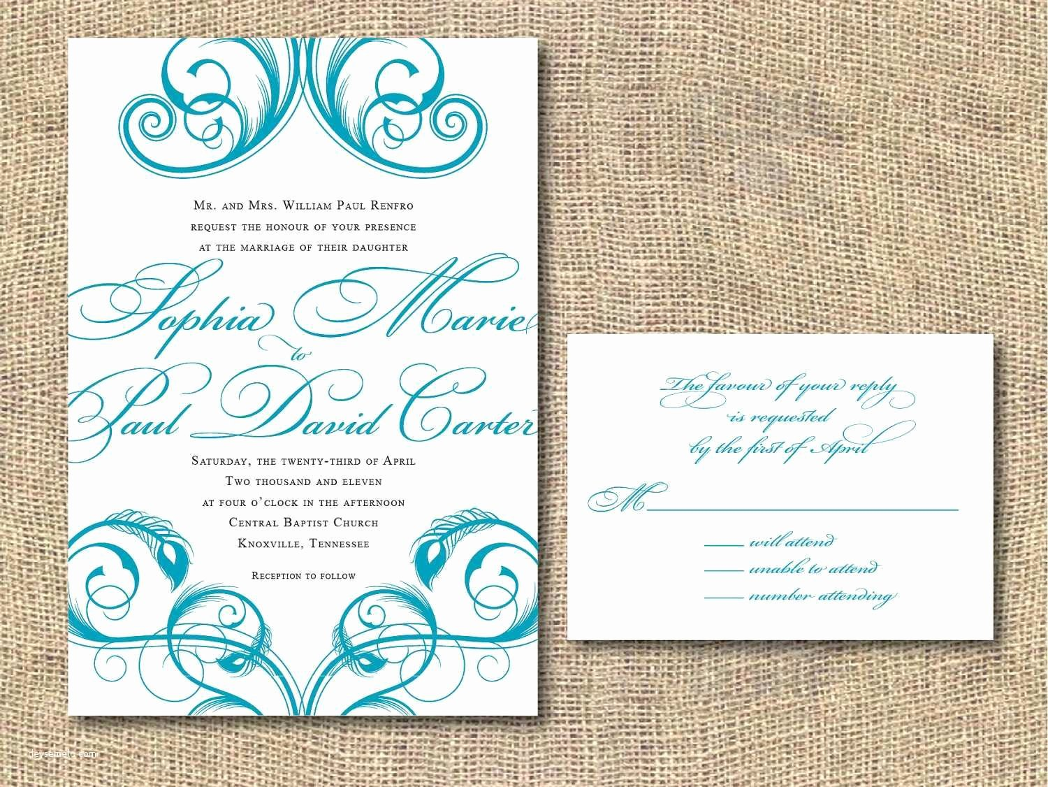 2018 Hobby Lobby Wedding Invitations Instructions with