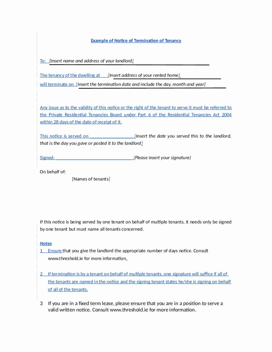 2018 Lease Termination form Fillable Printable Pdf