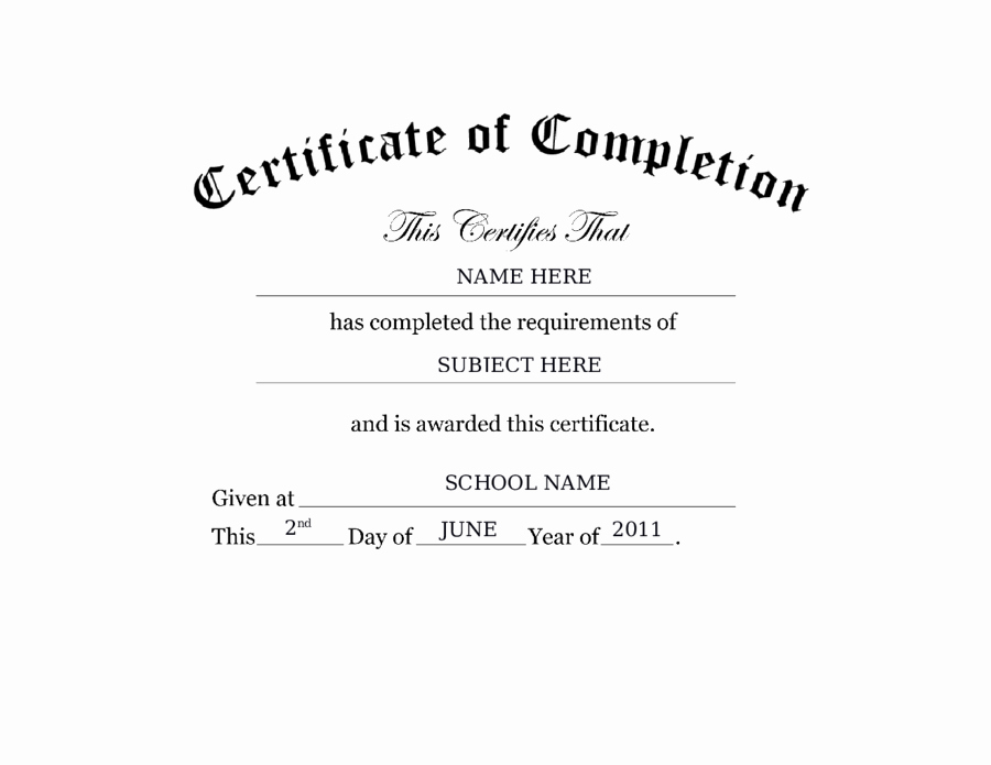 2019 Certificate Of attendance Fillable Printable Pdf