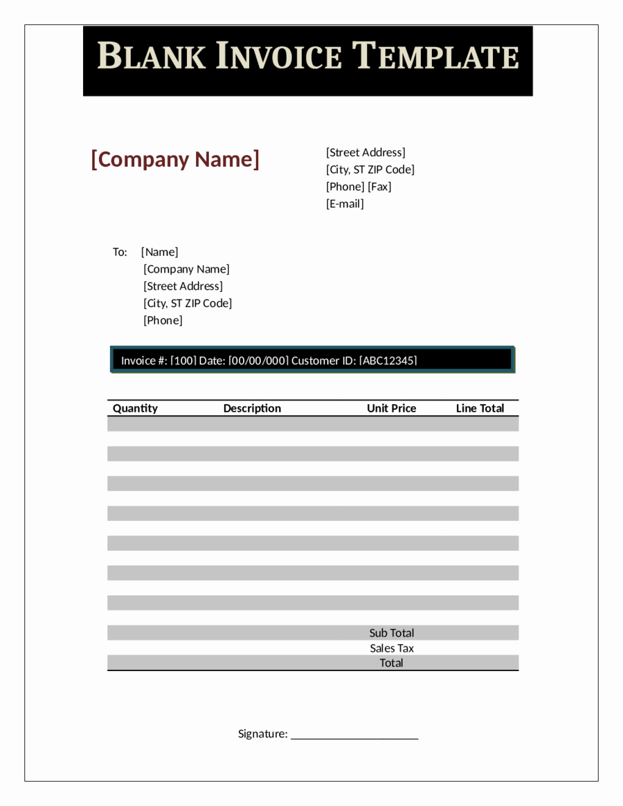 2019 Proforma Invoice Fillable Printable Pdf & forms