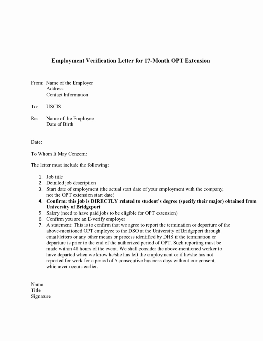 2019 Proof Of Employment Letter Fillable Printable Pdf