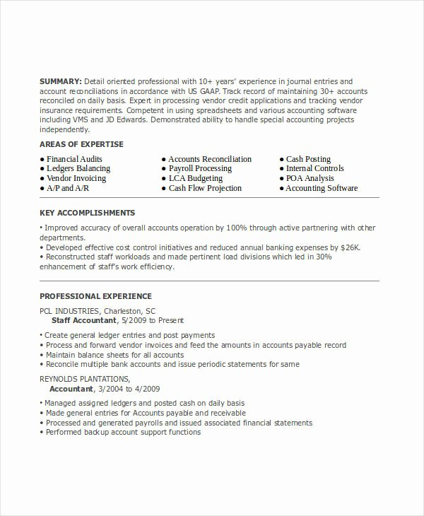 21 Accountant Resume Templates Pdf Doc