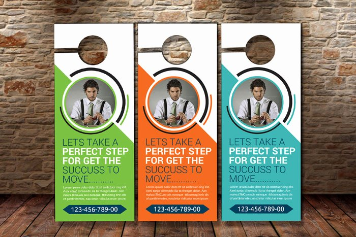 21 Best Door Hanger Psd Templates Designyep