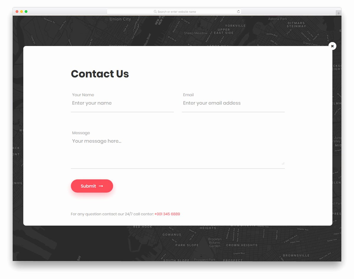 21 Best Free HTML Contact forms with Fresh New Designs 2019