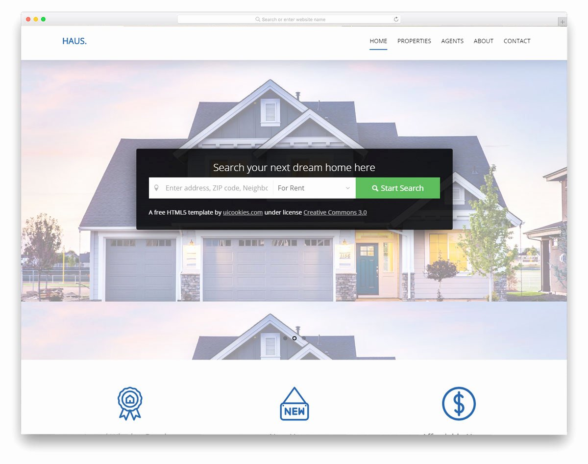 21 Best Free Real Estate Website Templates for Successful