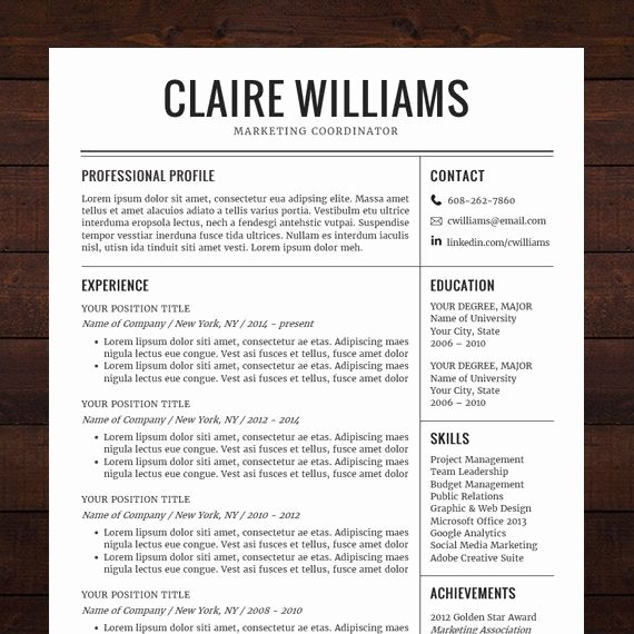 21 Best Images About Resume Design Templates Ideas ☮ On