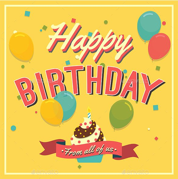21 Birthday Card Templates – Free Sample Example format