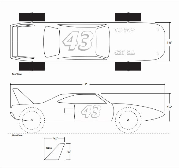 21 Cool Pinewood Derby Templates – Free Sample Example