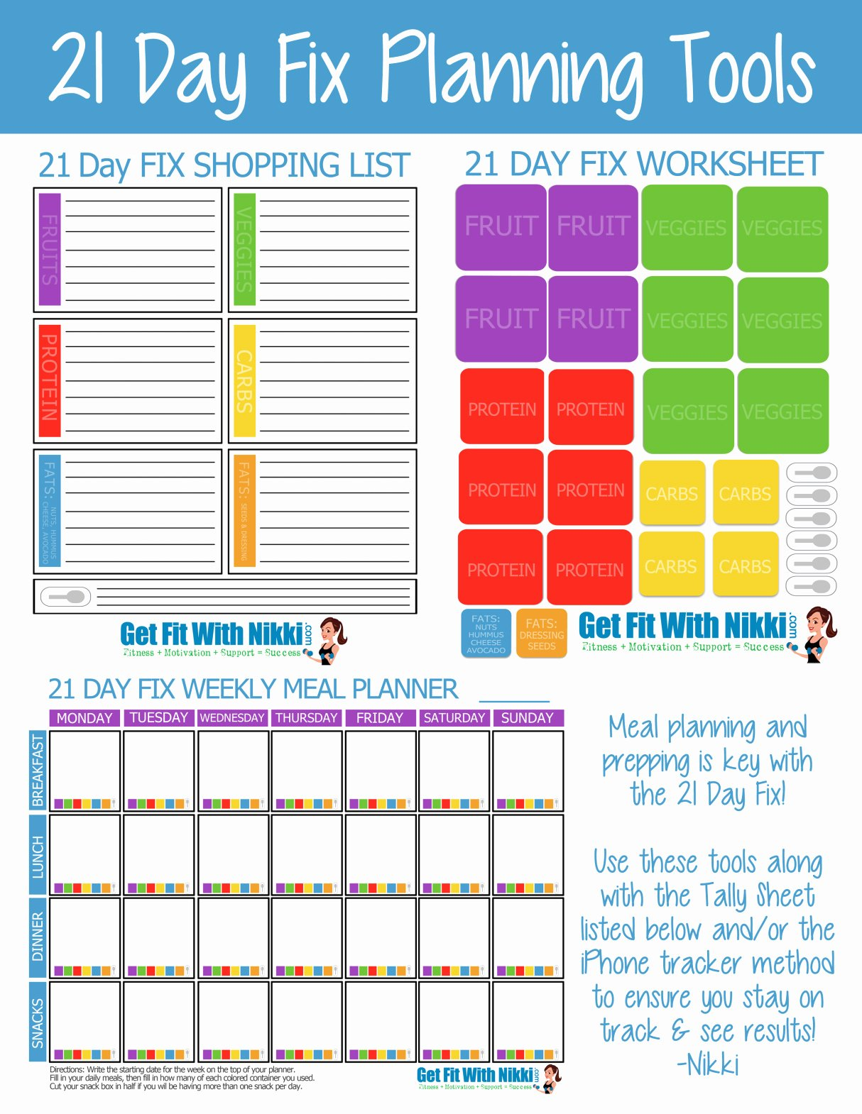 21 Day Fix Meal Planning Tips & My Favorite Foods